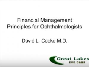 Financial Principles for Ophthalmologists